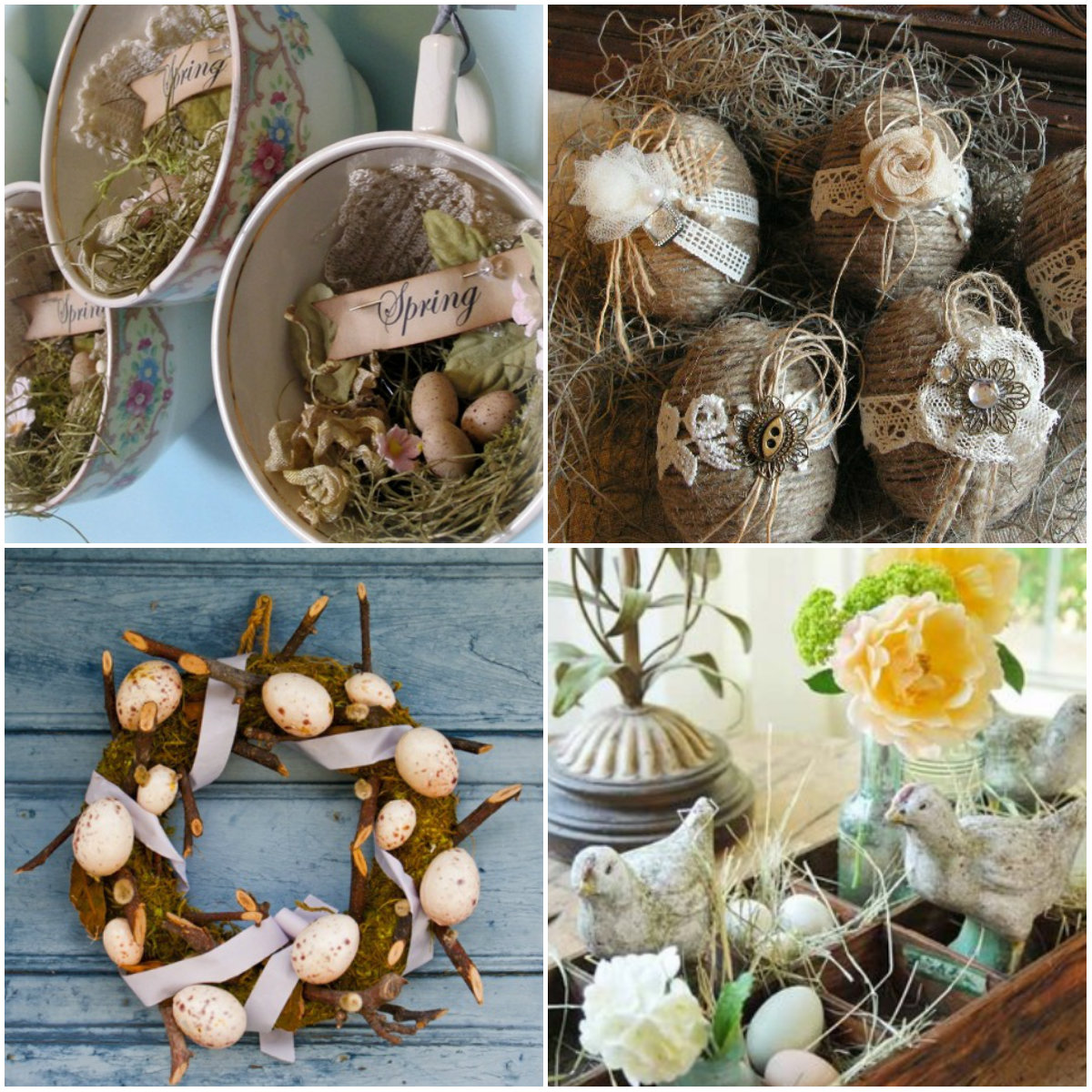 collage rustic
