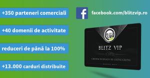 Lansare pagina Facebook Blitz VIP