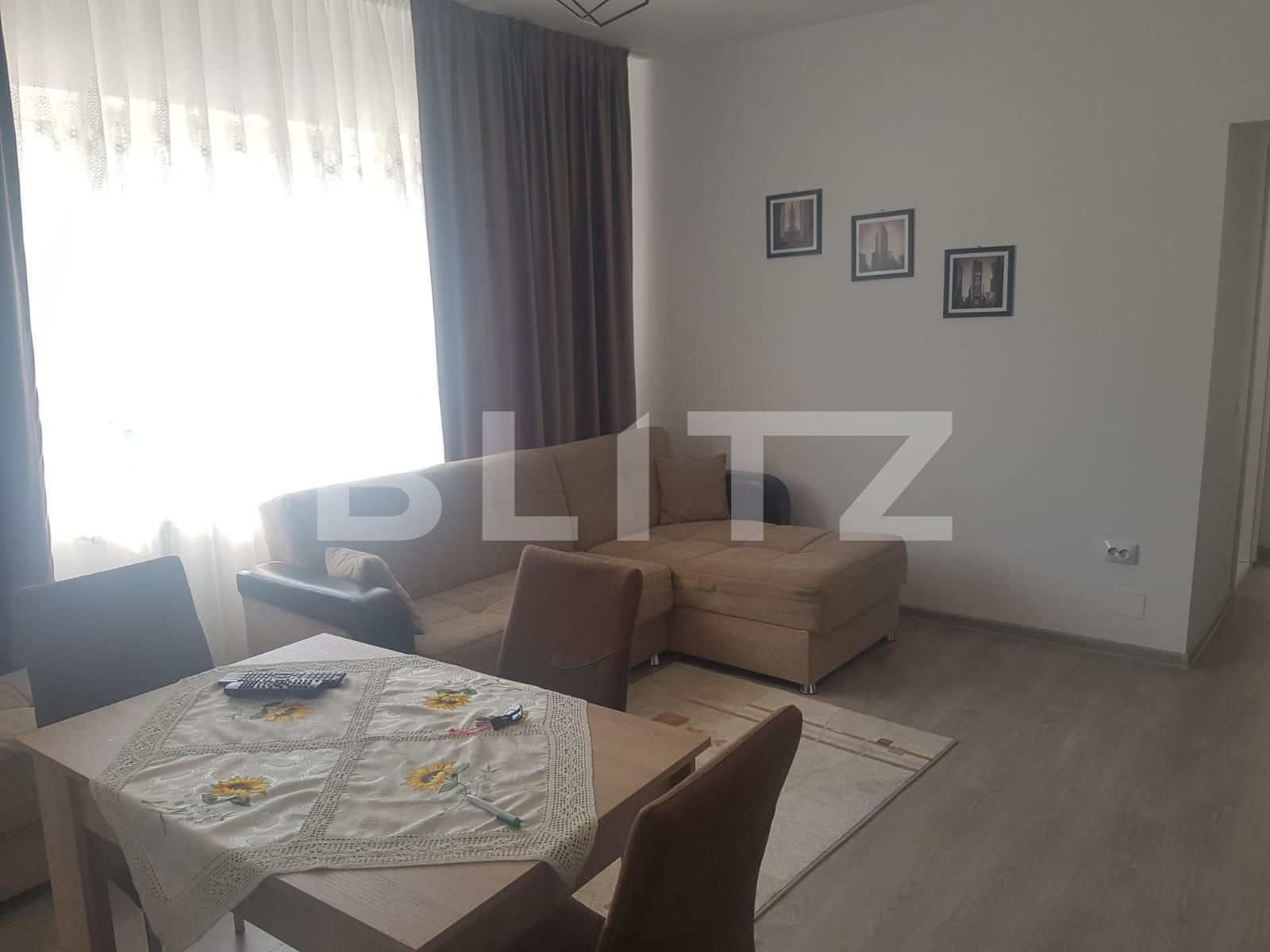 Apartament 2 camere decomandate, pet friendly, 47 mp, zona Teilor