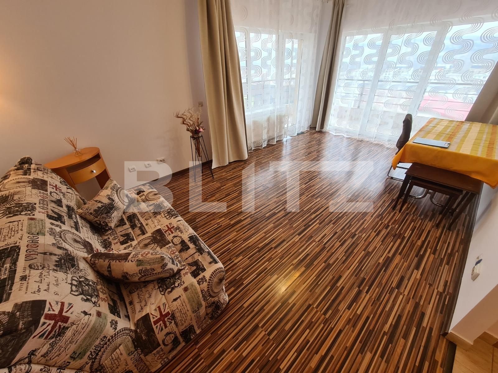 Apartament 1 camera, 44mp, loc parcare, panorama! Zona Vivo!
